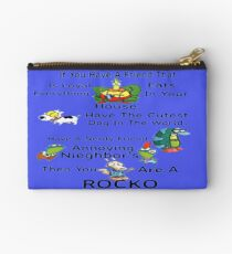 Your A Rocko Studio Pouch
