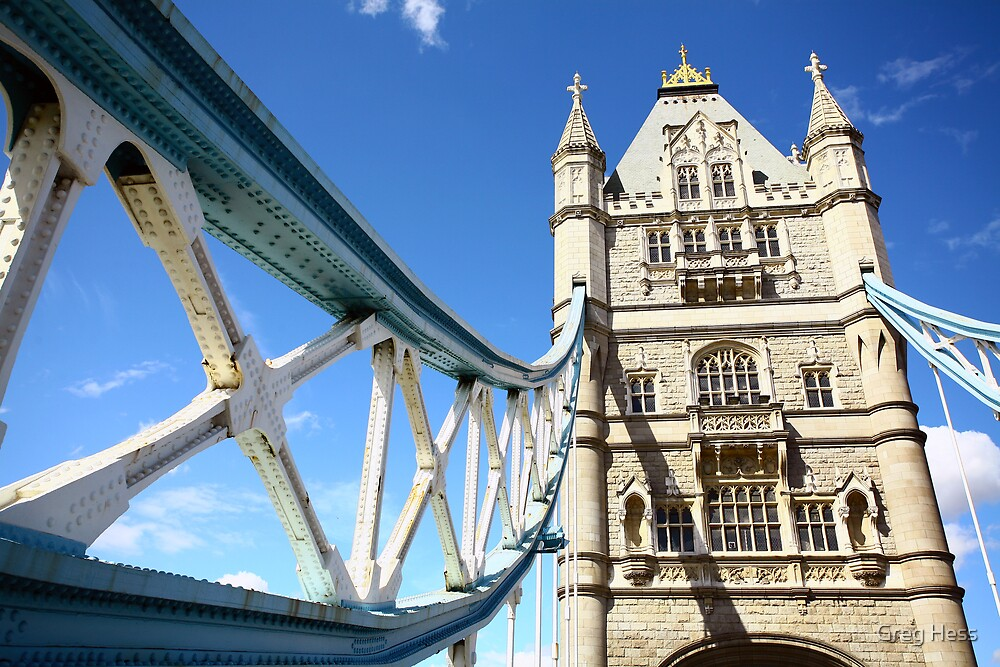 London Tower Bridge by Greg Hess