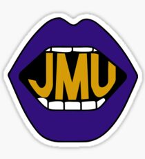 JMU Lips Sticker