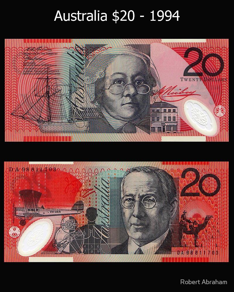 Australia $20 - 1994 by Robert Abraham