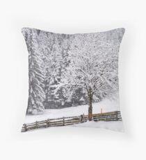 Snow! Throw Pillow