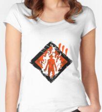 Dead By Daylight   Fire Up   Dark Women's Fitted Scoop T-Shirt