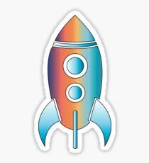 Rocket Artwork 3 Sticker