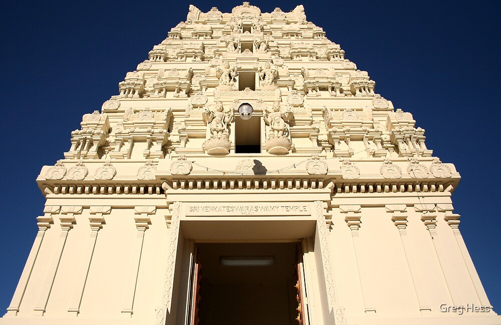 Hindu Temple by Greg Hess