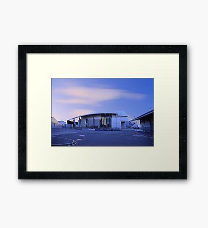 Fremantle Maritime Museum At Dusk   Framed Print