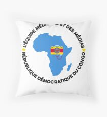 africa team Throw Pillow