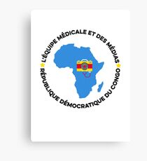 africa team Canvas Print