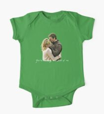 Olicity Wedding Vows - You're The Very Best Part Of Me One Piece - Short Sleeve