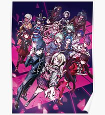 Danganronpa Group (ダンガンロンパ)  Poster