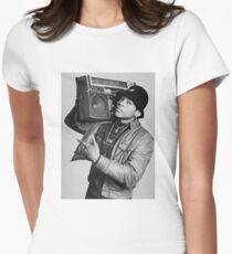 LL Cool J B/W Women's Fitted T-Shirt