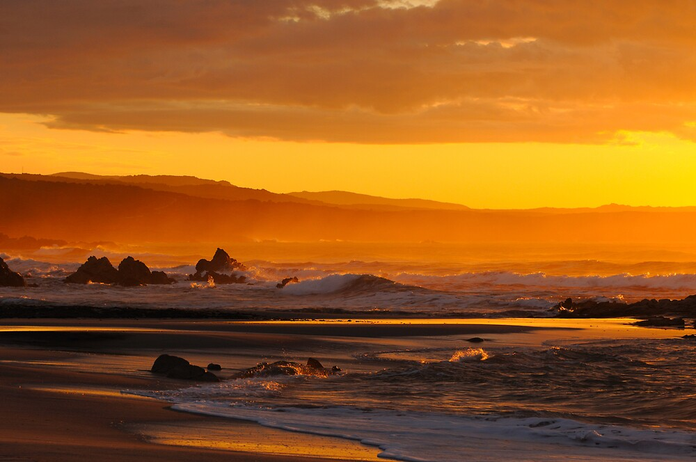 Sardinian sunset by lochef