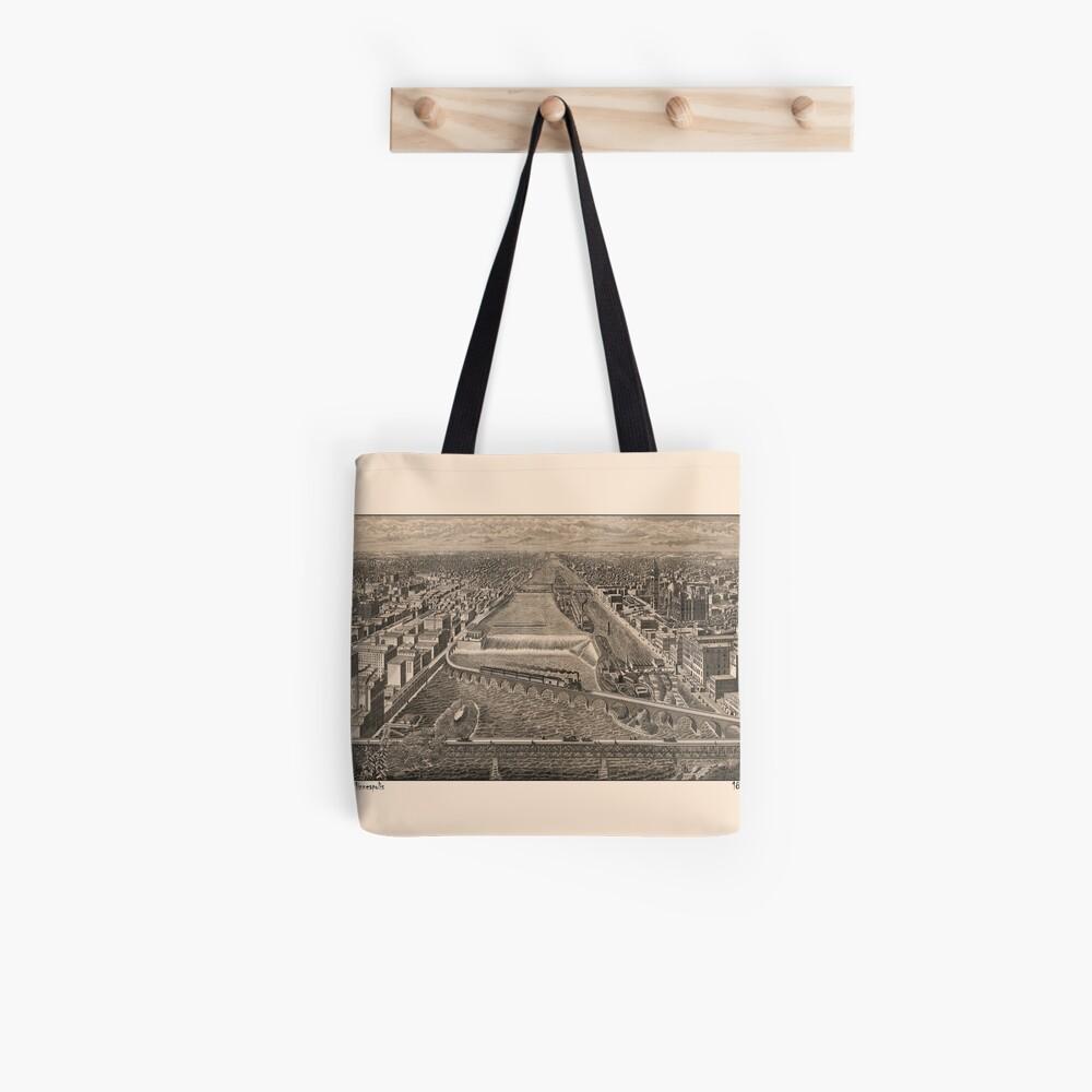 Minneapolis 1886 Tote Bag