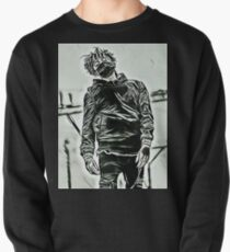 Scarlxrd black & white body design Pullover