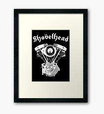 SHOVELHEAD 1 (CONE) Framed Print