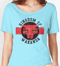 Kingdom of Wakanda Women's Relaxed Fit T-Shirt