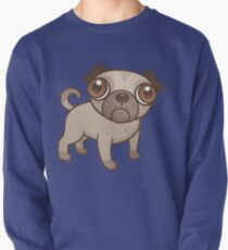 Pug Puppy Cartoon Pullover