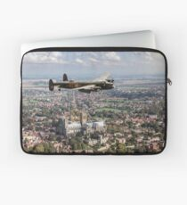 Lancaster City of Lincoln over Lincoln  Laptop Sleeve