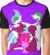 Ralts Kirlia Gardevoir Gallade Evolution Graphic T-Shirt