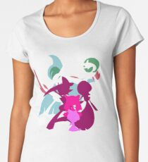 Ralts Kirlia Gardevoir Gallade Evolution Women's Premium T-Shirt