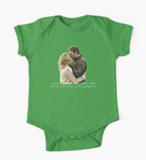 Olicity Wedding Vows - I Believe In You And I Believe That No Matter What Life Throws At Us, Our Love Can Conquer It One Piece - Short Sleeve