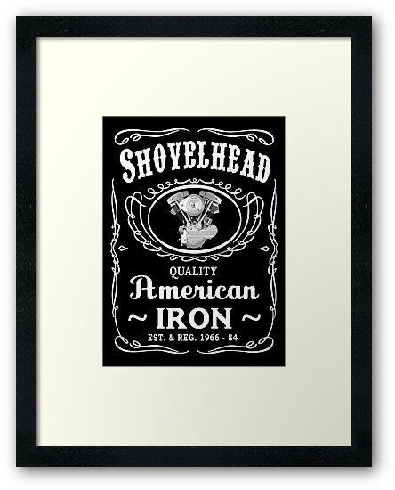 SHOVELHEAD 4 (JD GENERATOR) by Mark Hall