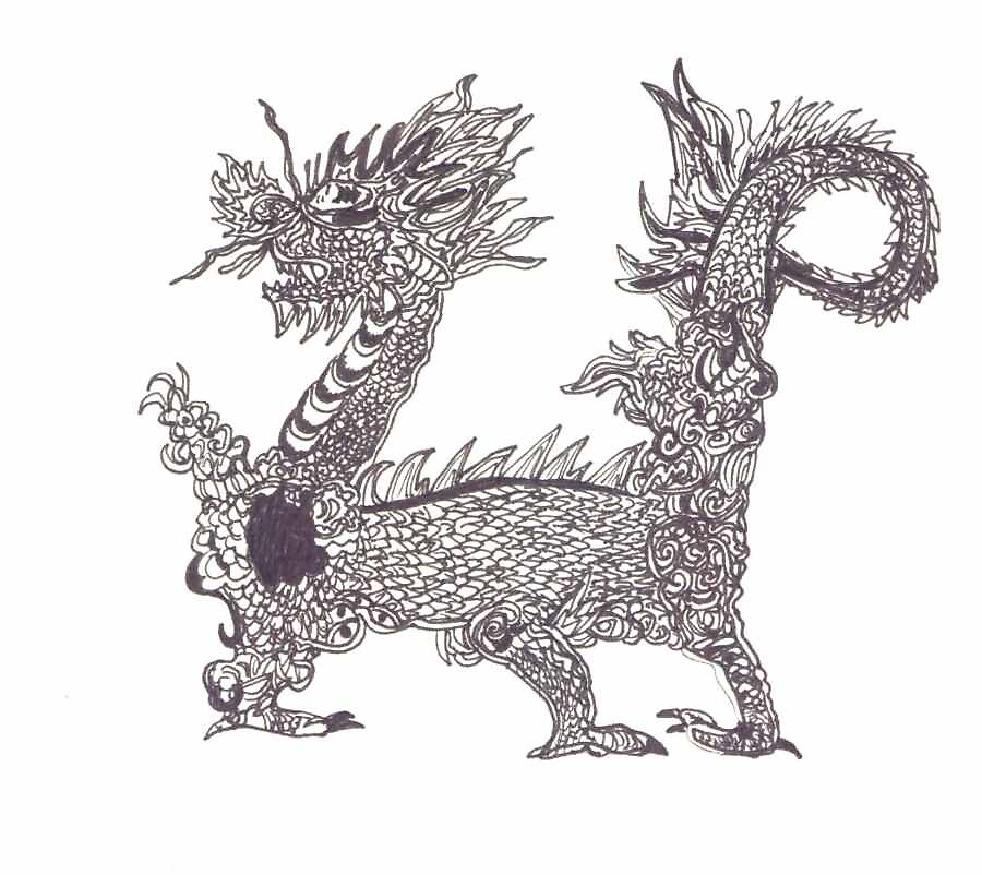 My First Dragon by KarmaSparks