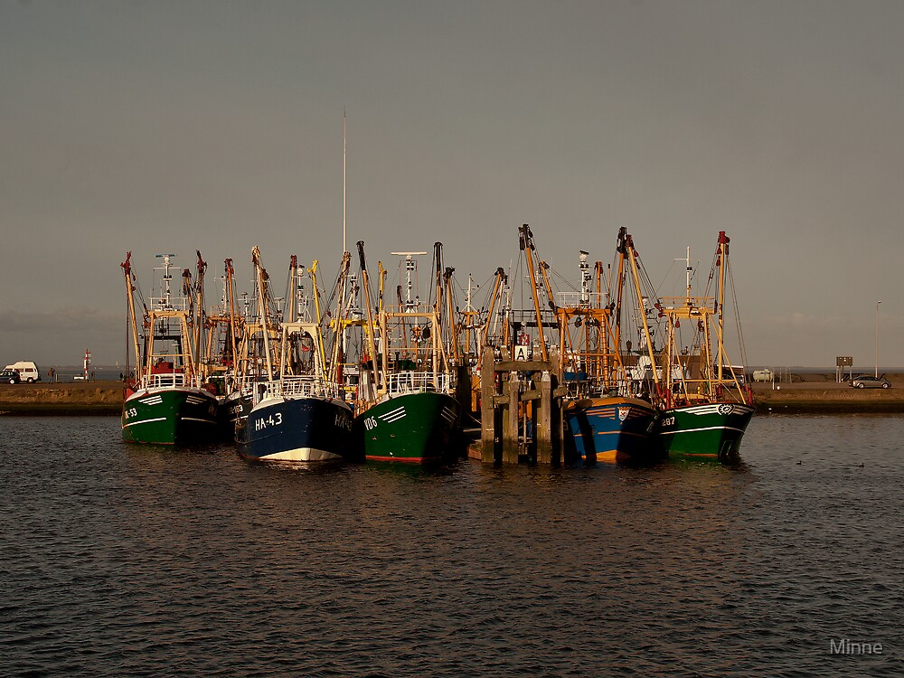 Fishing Boats by Minne