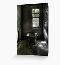 Dismal Bath Day Greeting Card
