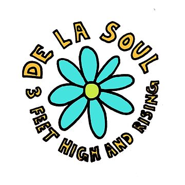 De La Soul 3 feet high and rising replica promo shirt by TheJBeez