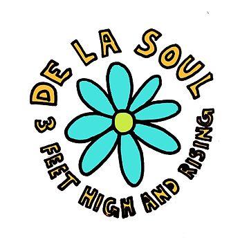 De La Soul 3 pies de altura y levantando réplica de la camisa de promoción de TheJBeez