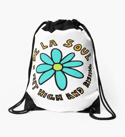 De La Soul 3 feet high and rising replica promo shirt Drawstring Bag
