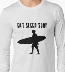 EAT SLEEP SURF  Long Sleeve T-Shirt