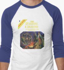 Vintage Dungeons & Dragons Expert Rule book (Remastered) Men's Baseball ¾ T-Shirt