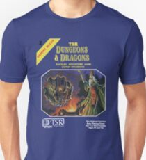 Vintage Dungeons & Dragons Expert Rule book (Remastered) Unisex T-Shirt