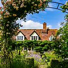 Cottage garden. v2 by ScenicViewPics