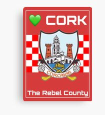 Cork Canvas Print