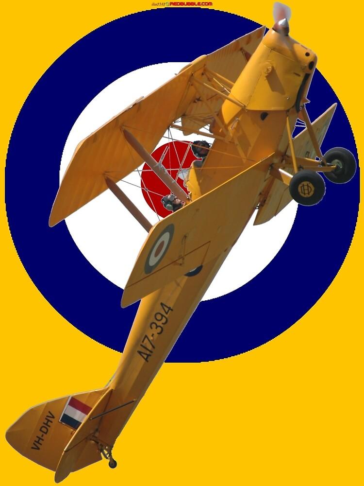 Pre WW2 RAAF Roundel DH-82A VH-DHV Design by muz2142