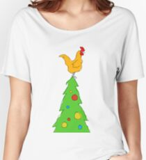 chook xmas Women's Relaxed Fit T-Shirt