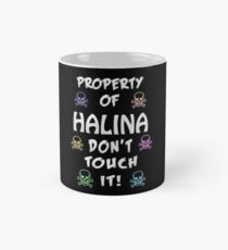 Property of Halina Classic Mug