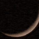 Sliver Of Moon by R&PChristianDesign &Photography