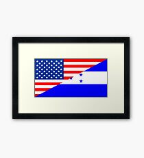 usa honduras Framed Print