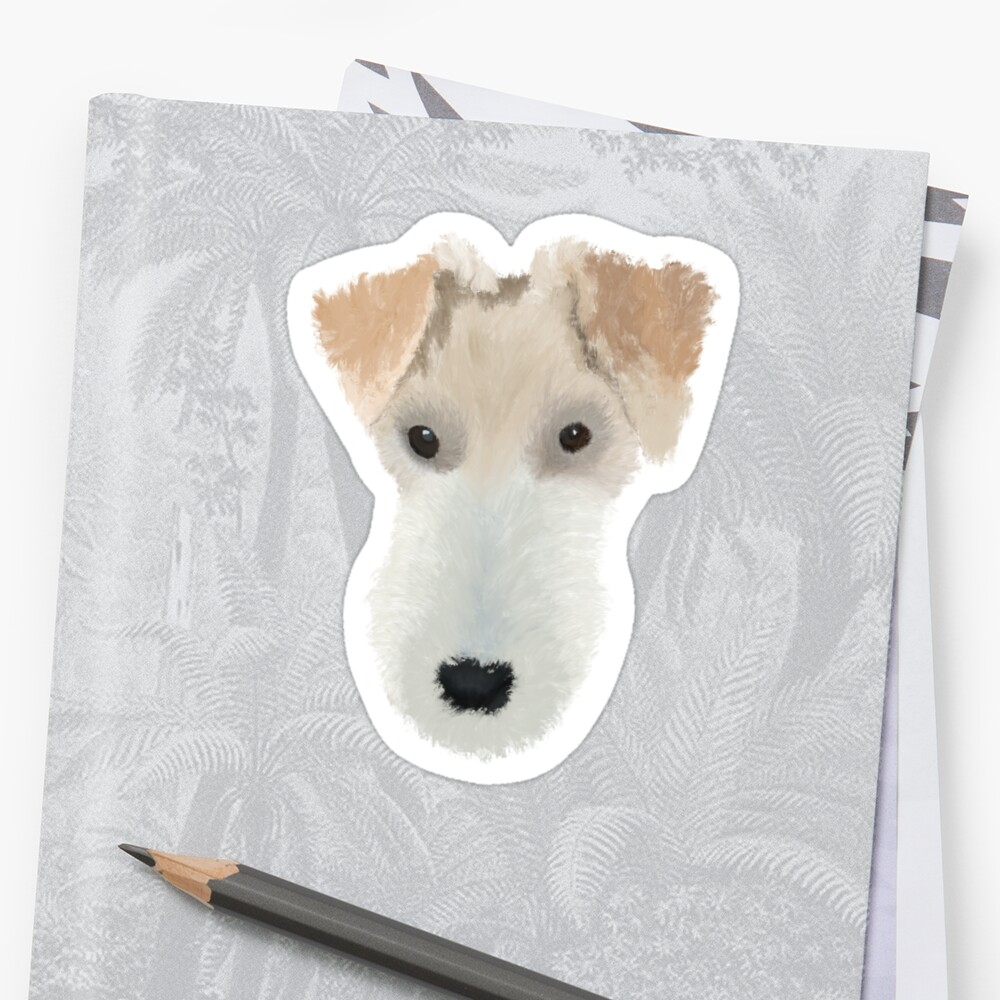Wire Hair Fox Terrier Dog\