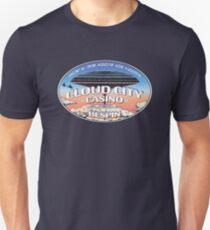 """Cloud City Casino, Bespin"" (English/Aurebesh) Tell 'em Lando sent you! Unisex T-Shirt"