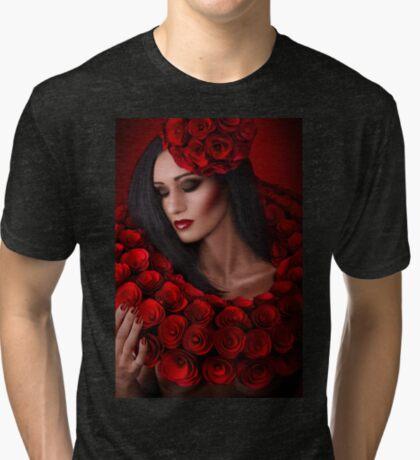 d'aimer et d'être aimé Tri-blend T-Shirt