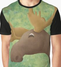 Moose Madness Graphic T-Shirt