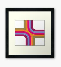 Vector Graphics Abstract Art Framed Print