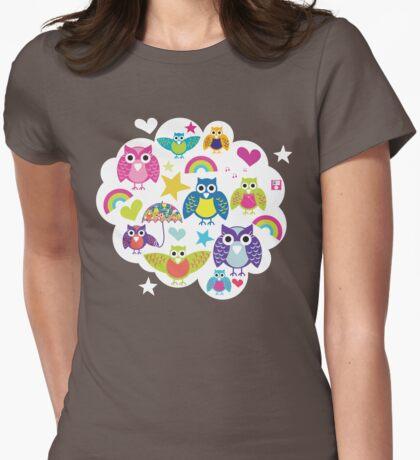 Owl cloud T-shirt  T-Shirt