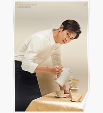EXO (엑소) Cafe Universe - Chanyeol (찬열) Poster