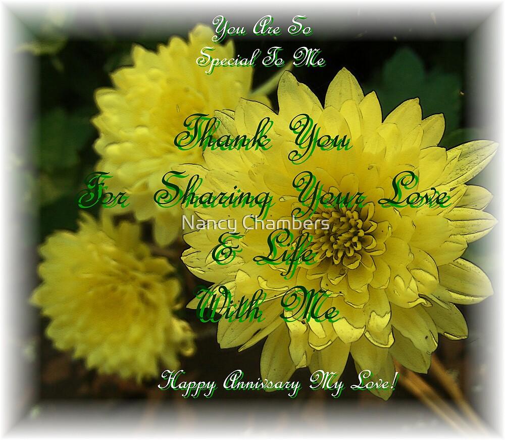 Happy Anniversary My Love by NancyC