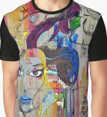 Wall Graffiti! Graphic T-Shirt